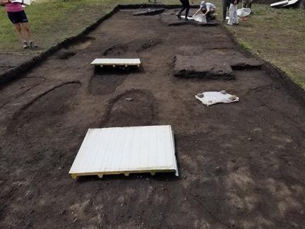 Dig site in Transylvania