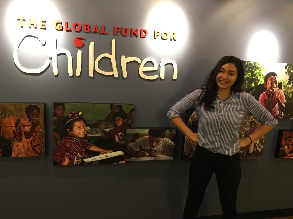 Kearney and Global Fund for Children sign