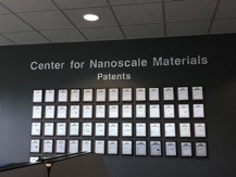 Center for Nanoscale Materials Patents